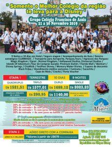 Grupo Disney Novembro 2019 Colégio São Francisco de Assis 16