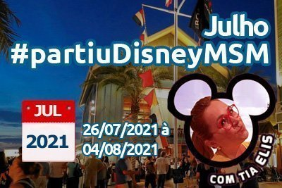 Orlando – Julho 2021 10 dias 9 noites