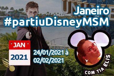Grupo Pottereando Disney Janeiro 2021