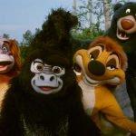 Todos os personagens que podemos encontrar no Animal kingdom 12