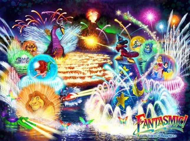 O íncrivel show Fantasmic no Hollywood studios 16