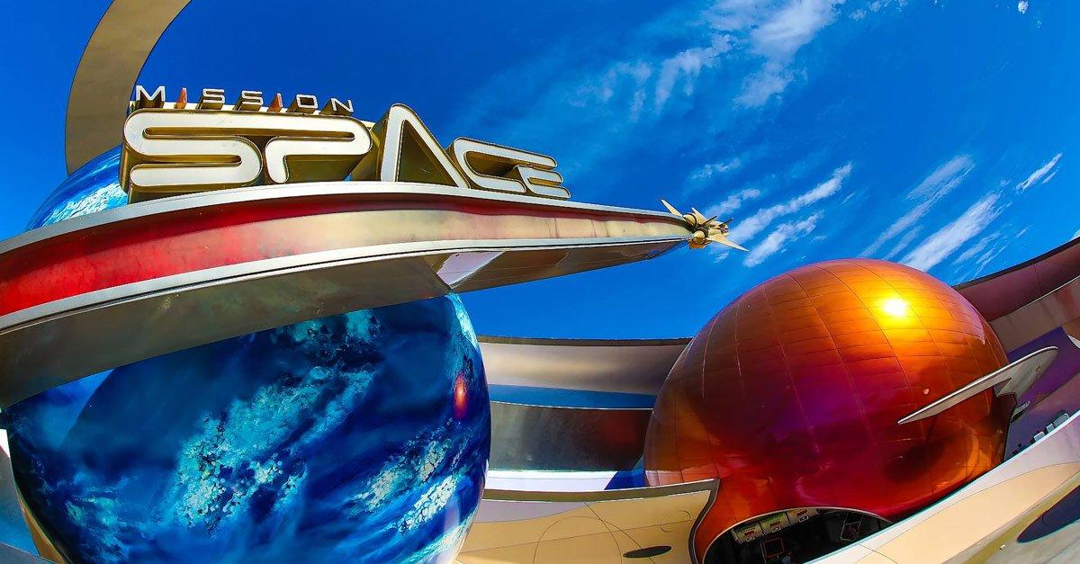 Mission SPACE :  uma incrível atração da NASA no Epcot 10
