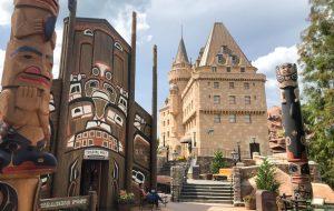 O Encantador Pavilhão do Canadá no Epcot 4