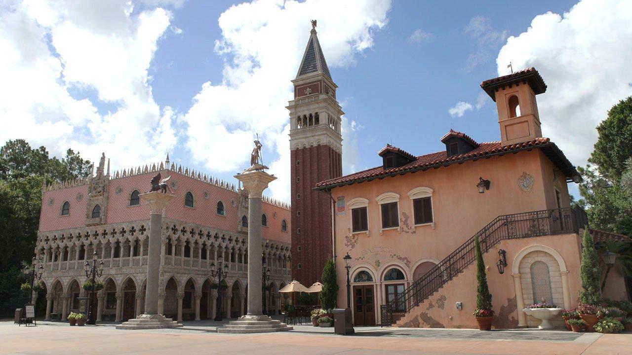 Conheça a Arquitetura e a culinária da Itália no Epcot 32