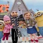 Os Personagens que encontramos na Universal Studios 8