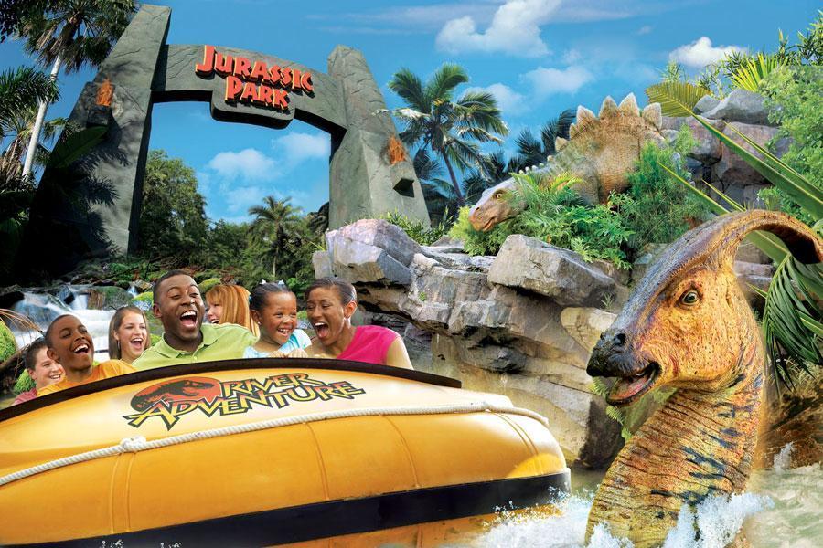 Conheça a perigosa e emocionante área Jurassic Park no Island ofAdventure 2