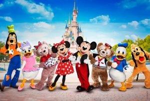Os personagens que encontramos no Disneyland Paris 4
