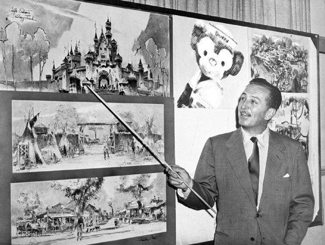 A historia da Disneyland Califórnia: como Walt Disney criou seu primeiro parque temático PT 2 14