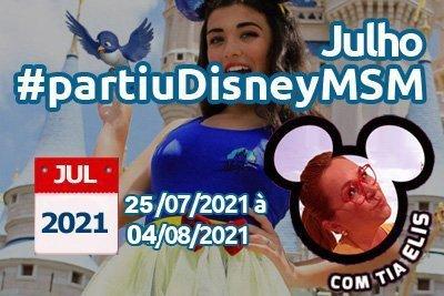 Orlando – Julho 2021 11 dias 10 noites – Grupo Sonho de Princesa