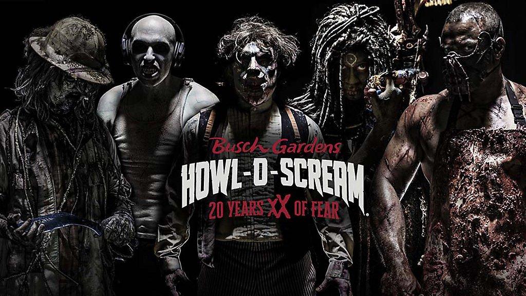 A aterrorizante festa de Halloween do Bush Gardens 2