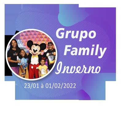 Grupo Family Inverno – Orlando – Janeiro de 2022
