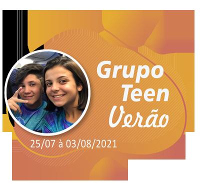 Grupo Teen Verão – Orlando – Julho 2021