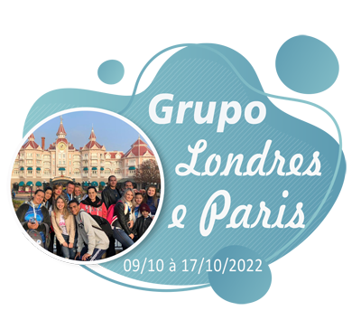 Grupo Londres paris – Outubro 2022
