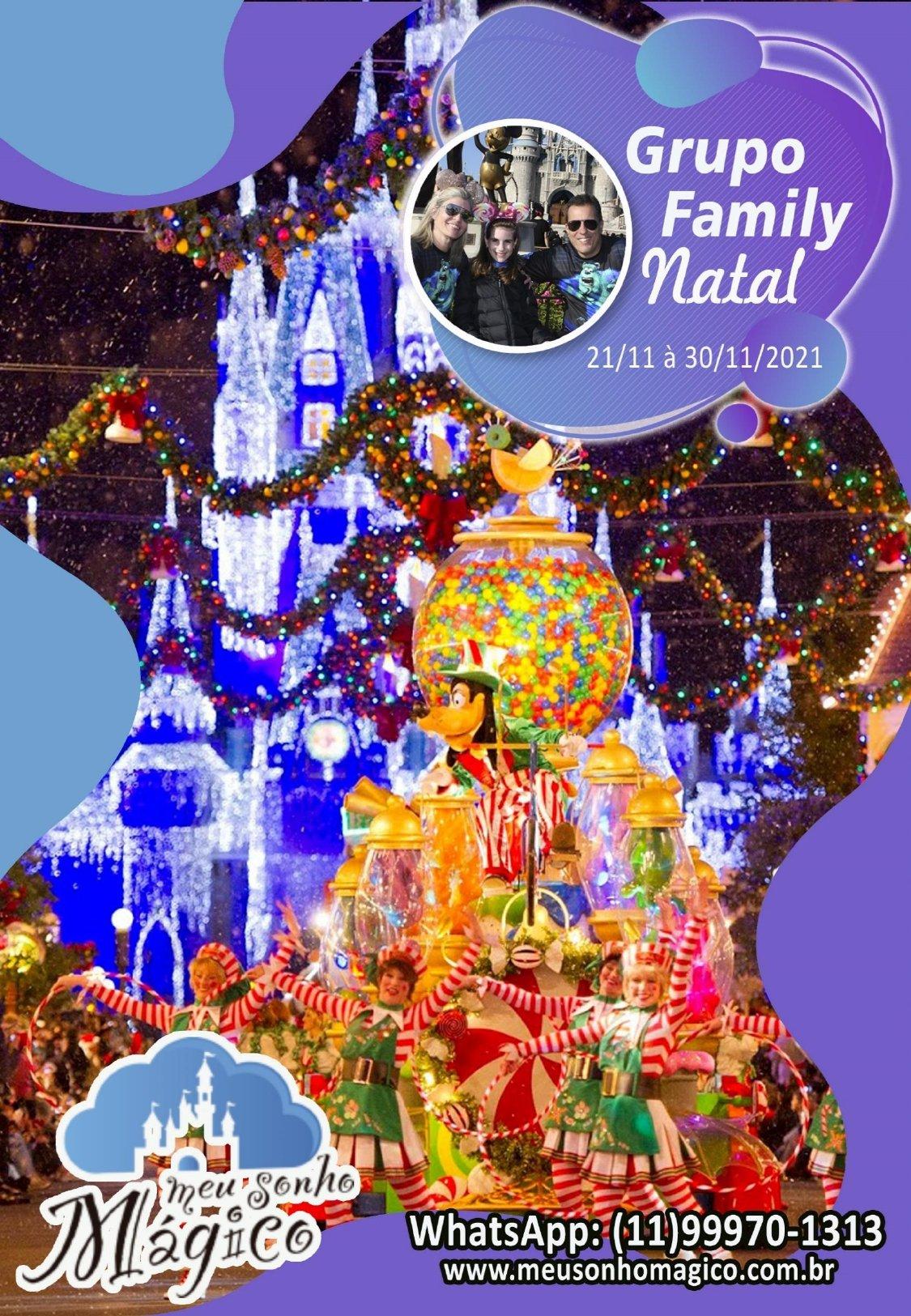 Grupo Family Natal - Disney Novembro 2021 1