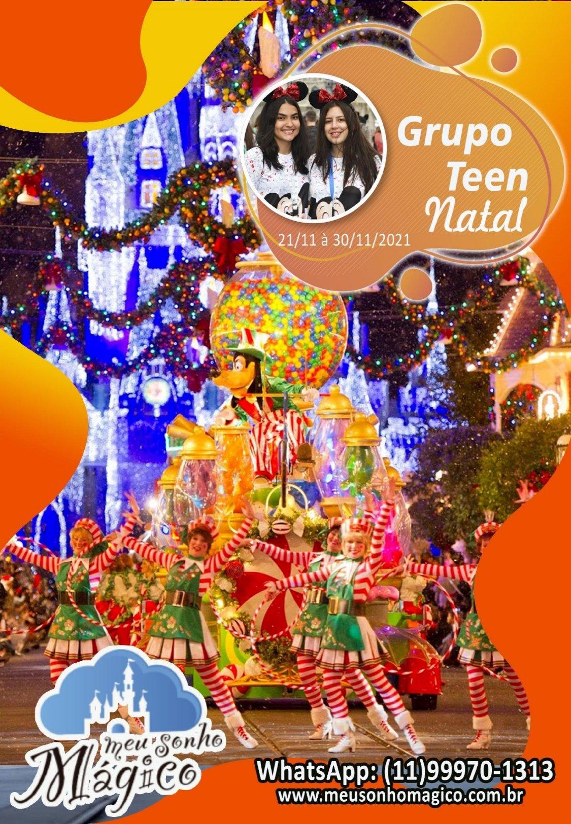 Grupo Teen Natal - Disney Novembro 2021 1