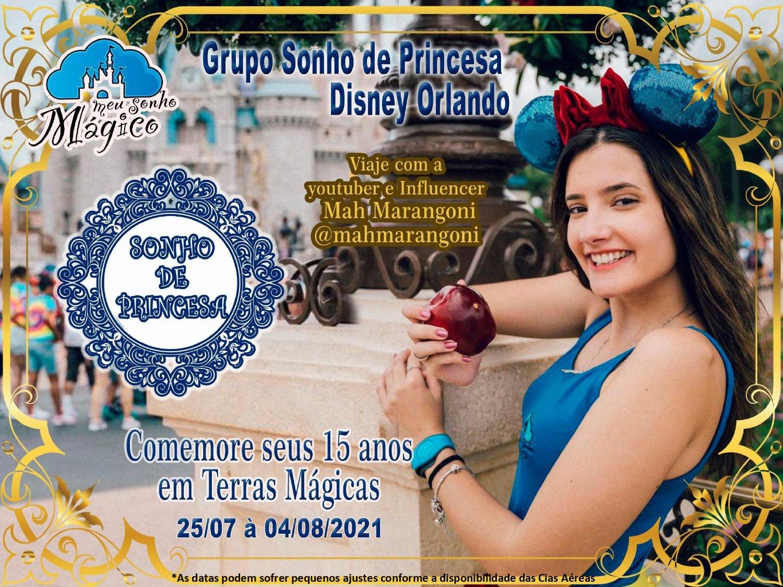 Grupo Sonho de Princesa - Disney Julho 2021 1