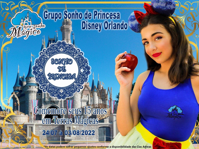Grupo Sonho de Princesa - Disney Orlando Julho 2022 1