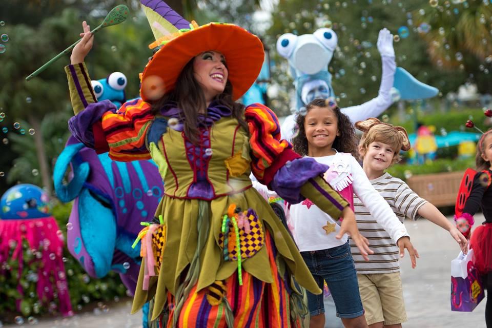Tudo sobre a festa de Halloween do Sea World 4