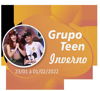 Grupo Teen Inverno – Orlando – Janeiro 2022