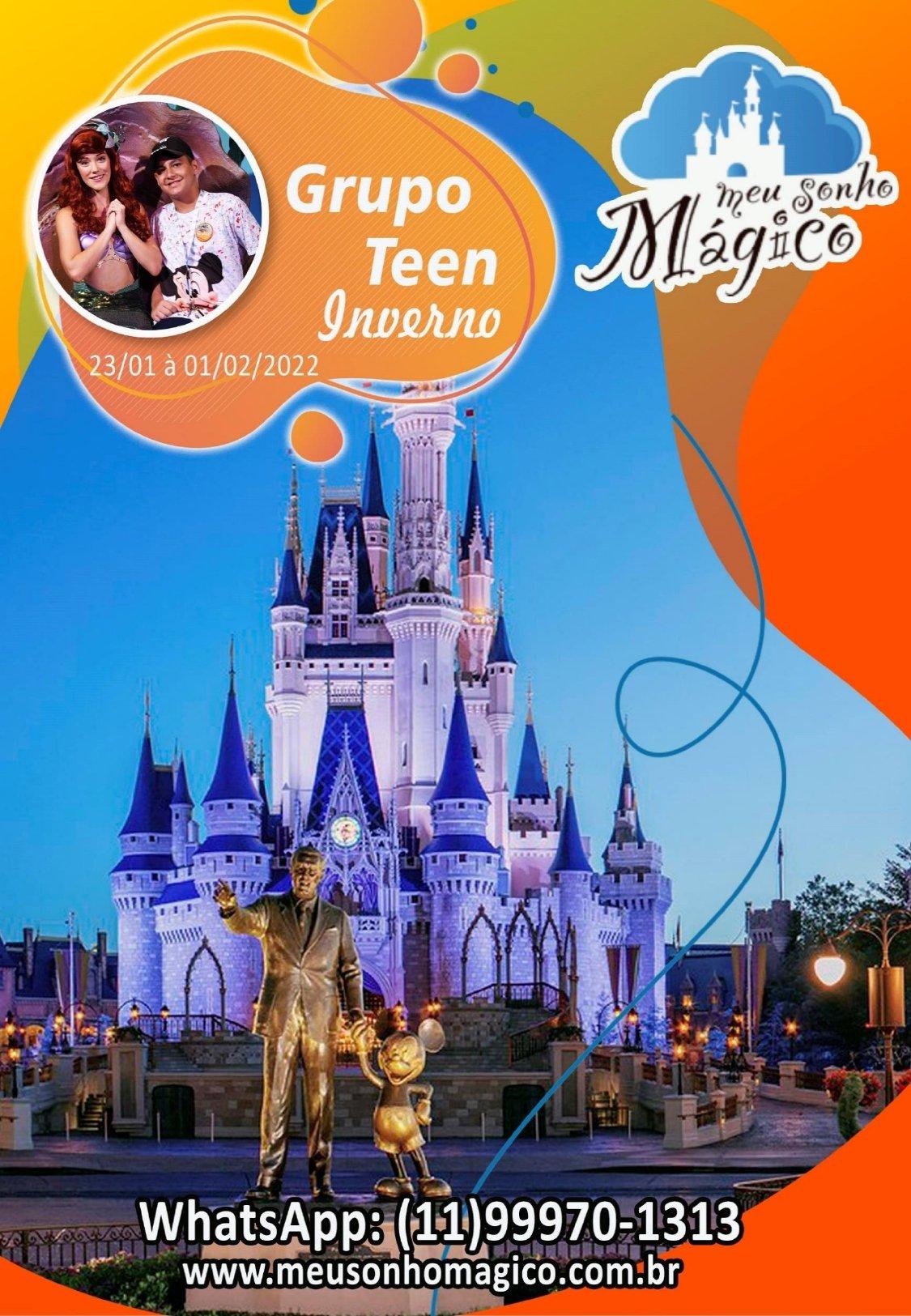 Grupo Teen Inverno - Disney Janeiro 2022 1