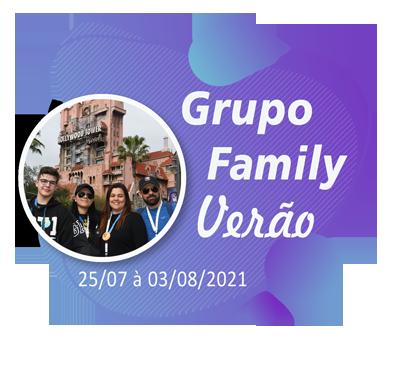 Grupo Family Verão – Orlando – Julho 2021
