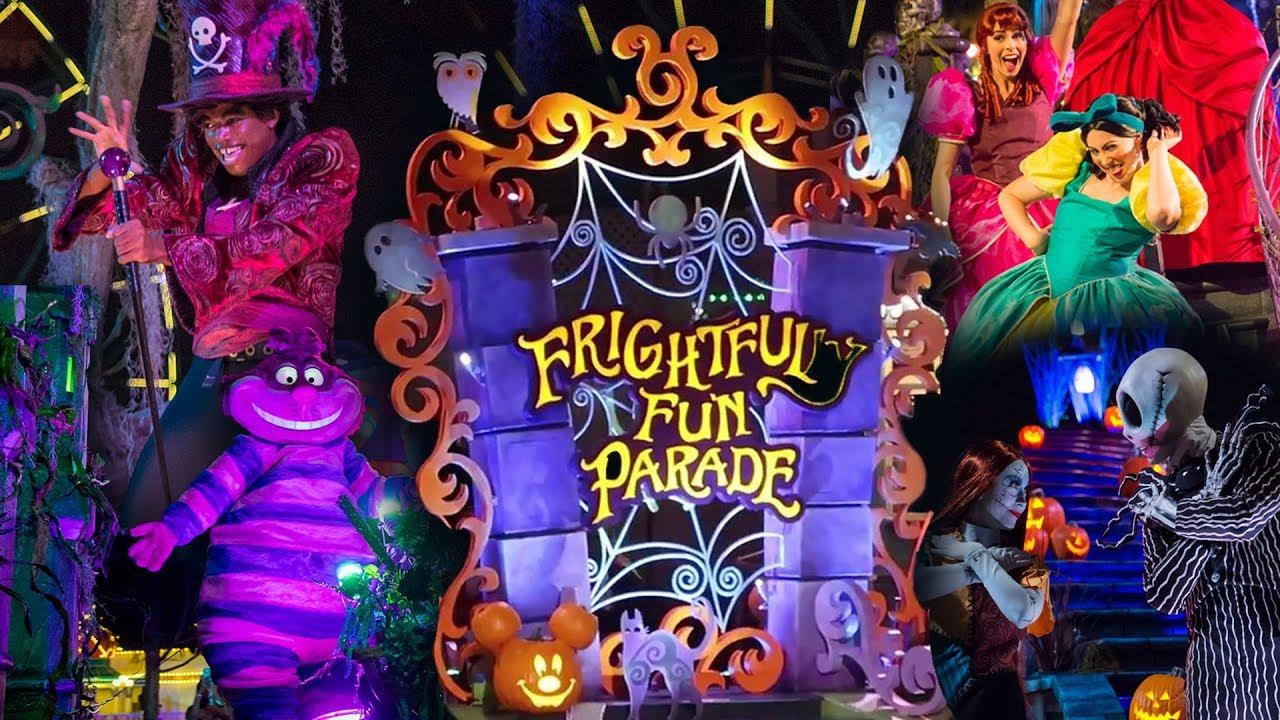 Conheça o Show e a Parada de Halloween da Disneyland Califórnia 4