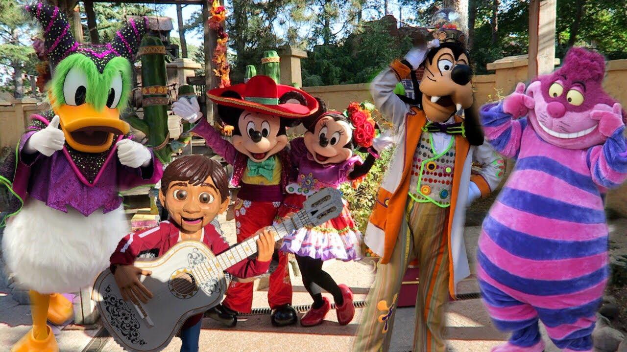 Os personagens raros da festa de Halloween na Disneyland Paris 8