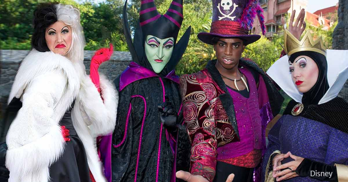 Os personagens que encontramos na festa de Halloween da Disneyland Califórnia 4