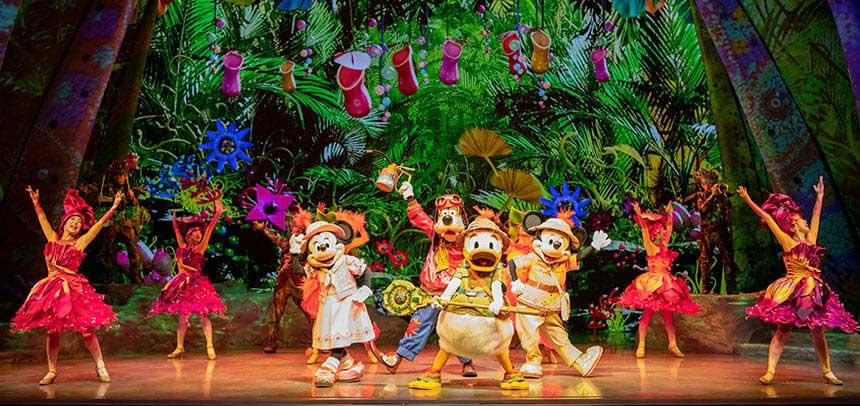 Os shows e paradas da Disney Tokyo Sea 4