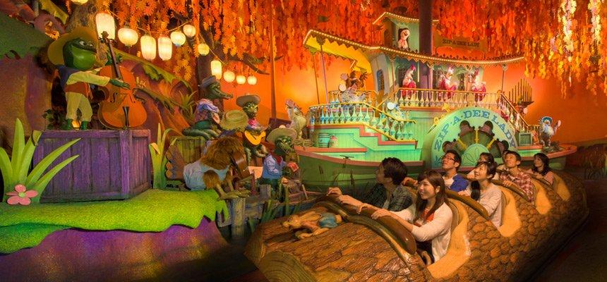 Conheça as atrações da  área Critter Country na Disneyland Tokyo 16