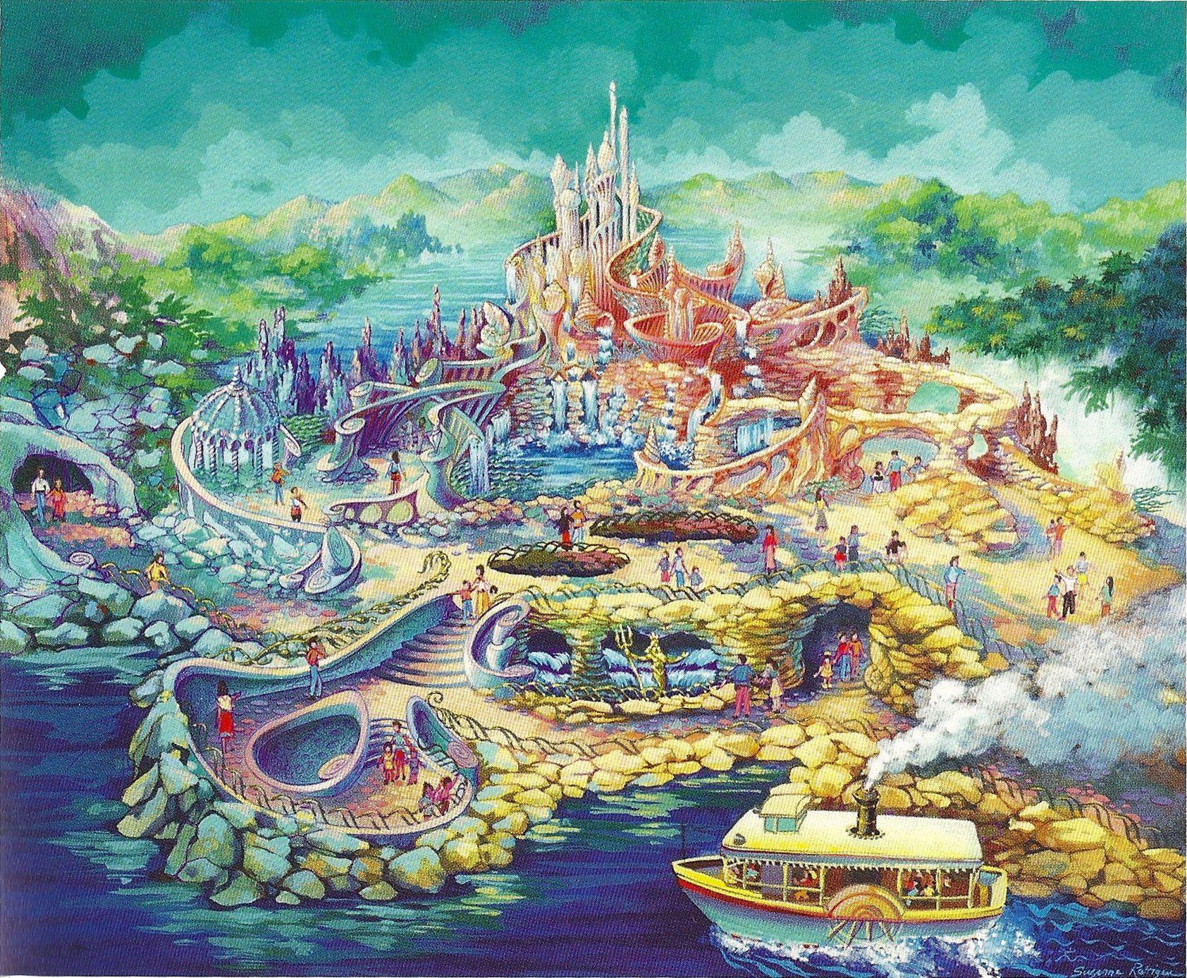 Explore o oceano mágico de Ariel no Mermaid Lgoon do Disney Tokyo Sea 8