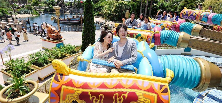 Encontre mundos distantes na área Arabian Coast do Disney Tokyo Sea 10