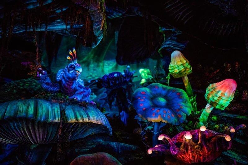 A incrível jornada ao centro da terra na área Mysterious Island do Disney Tokyo Sea 16