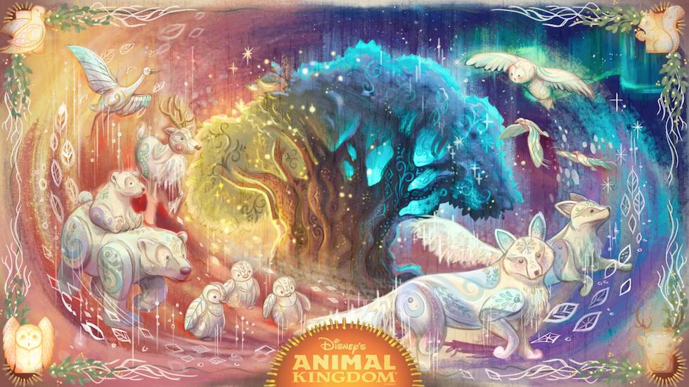 Tudo sobre a festa de Natal do Animal Kingdom 2