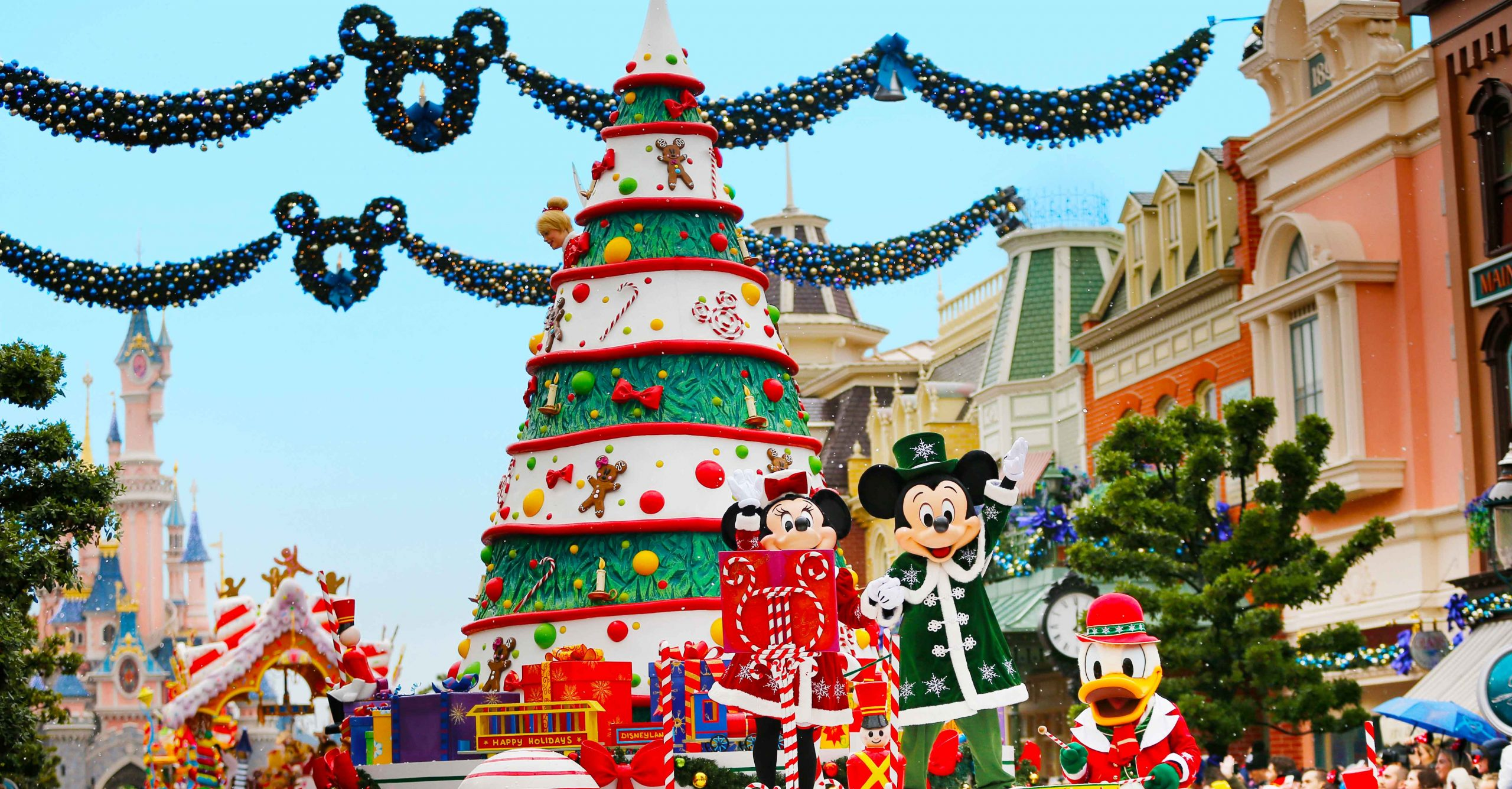 A festa de Natal da Disneyland Paris 4