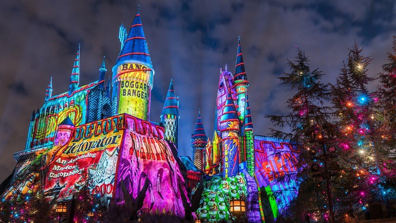 A festa de Natal do Universal studios 2