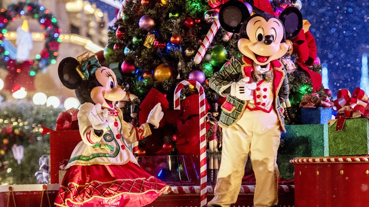 Tudo sobre a festa de Natal do Magic Kingdom 4