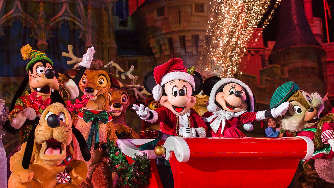 Os shows e paradas da festa de Natal do Magic Kingdom 2