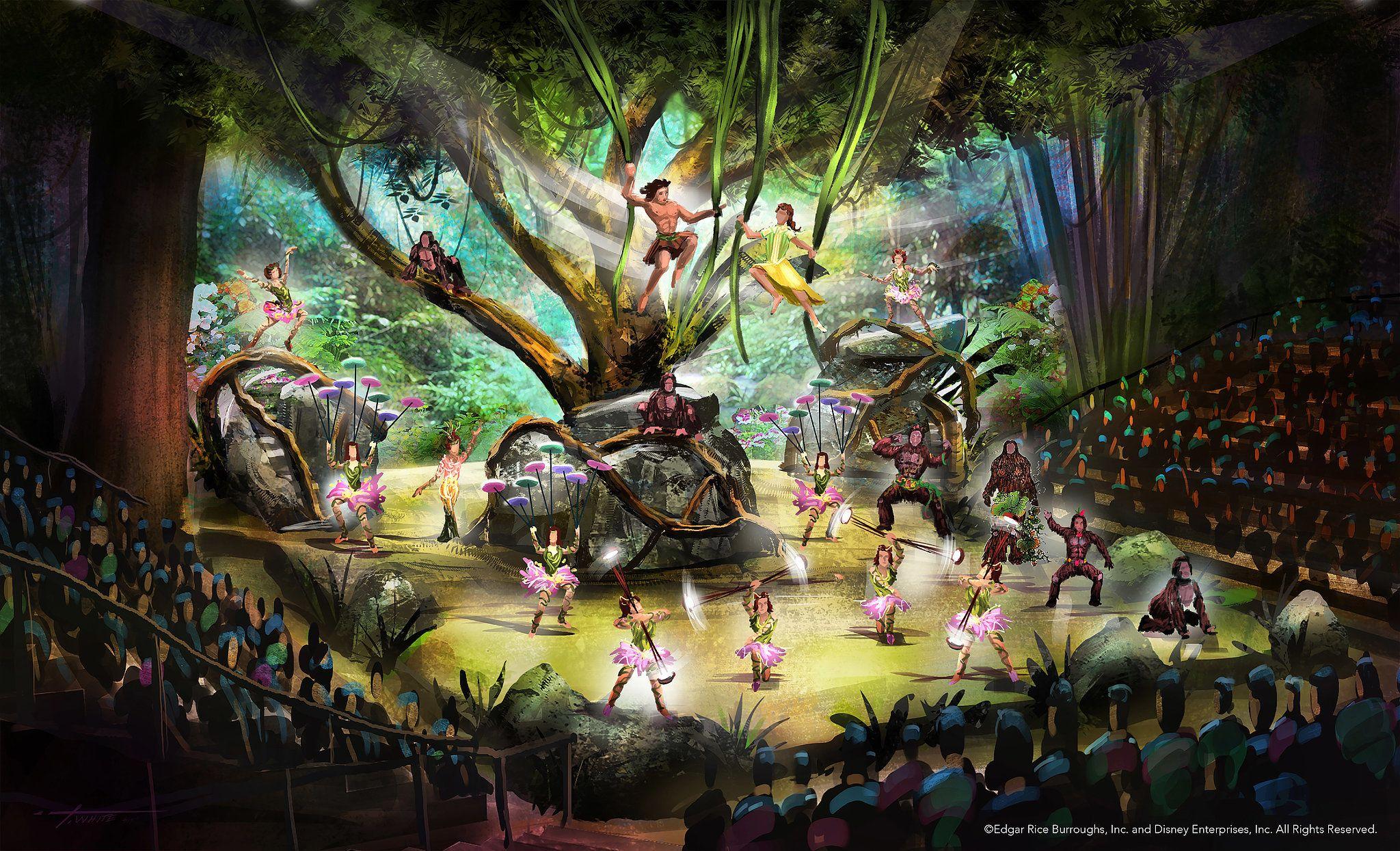 Se aventure na área Adventure isle na Disney Xangai 18