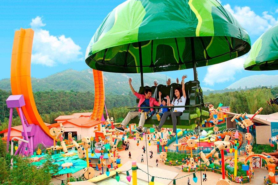 Conheça a incrível área de  Toy Story land da Disneyland Hong Kong 32