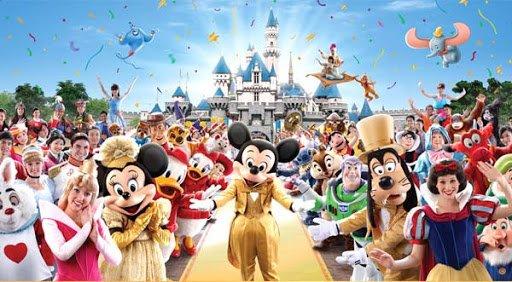 Os personagens que podemos encontrar na Disneyland Hong Kong 28