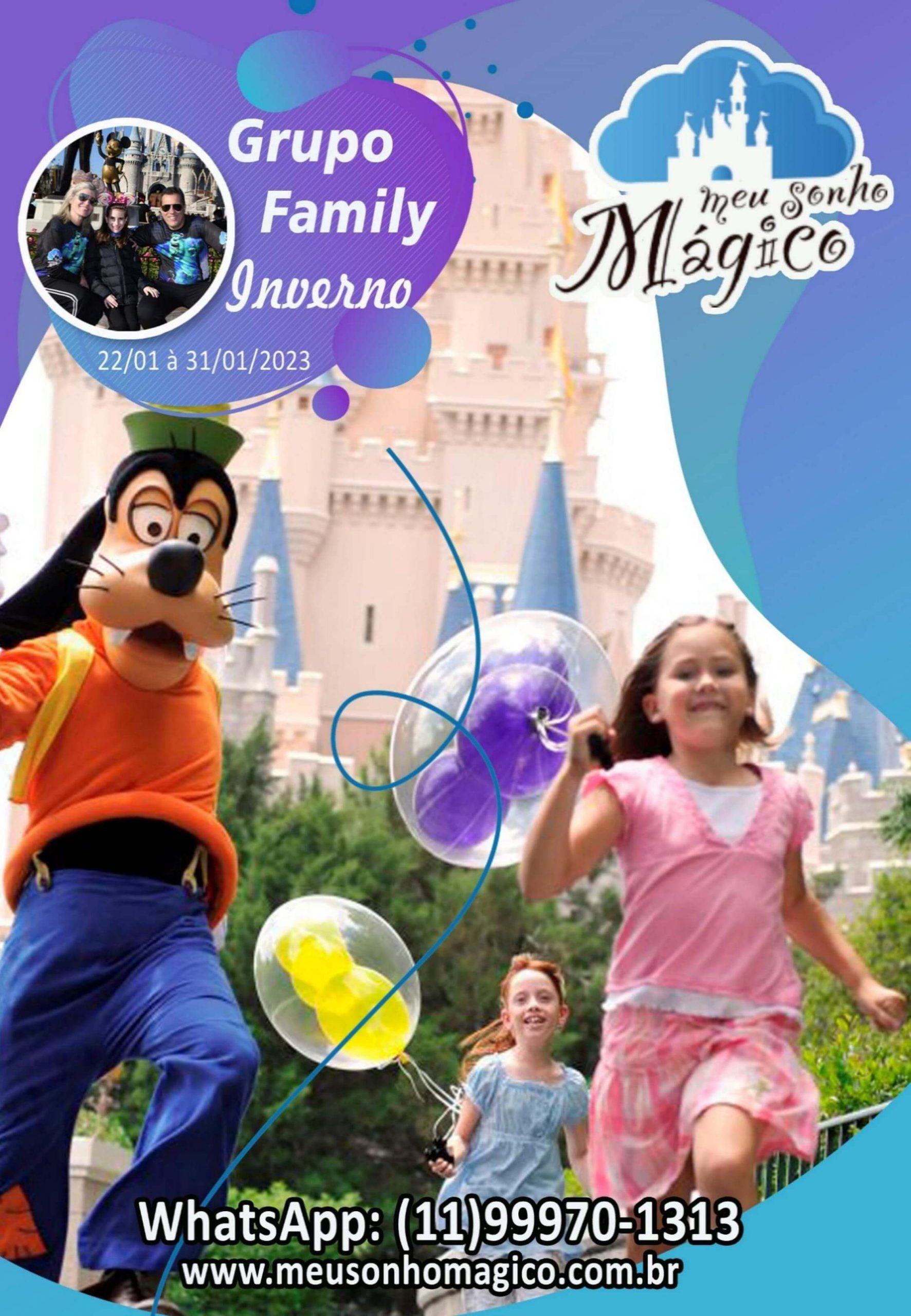 Grupo Family Inverno - Disney Janeiro 2023 1