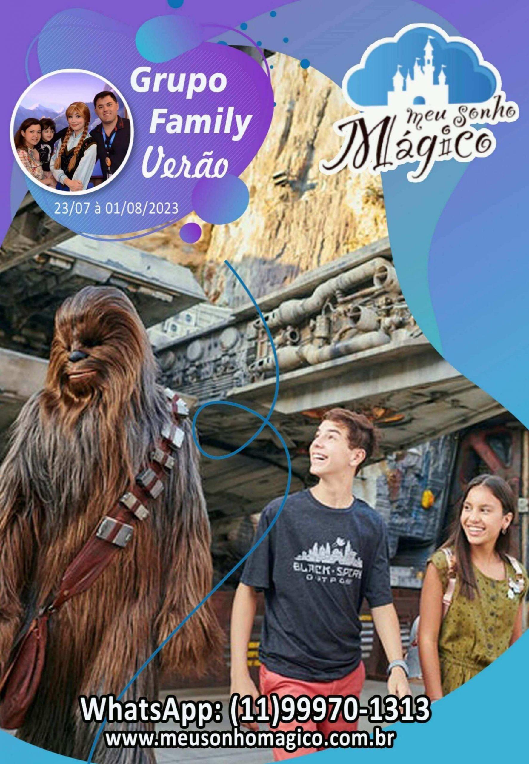 Grupo Family Verão - Disney Julho 2023 1