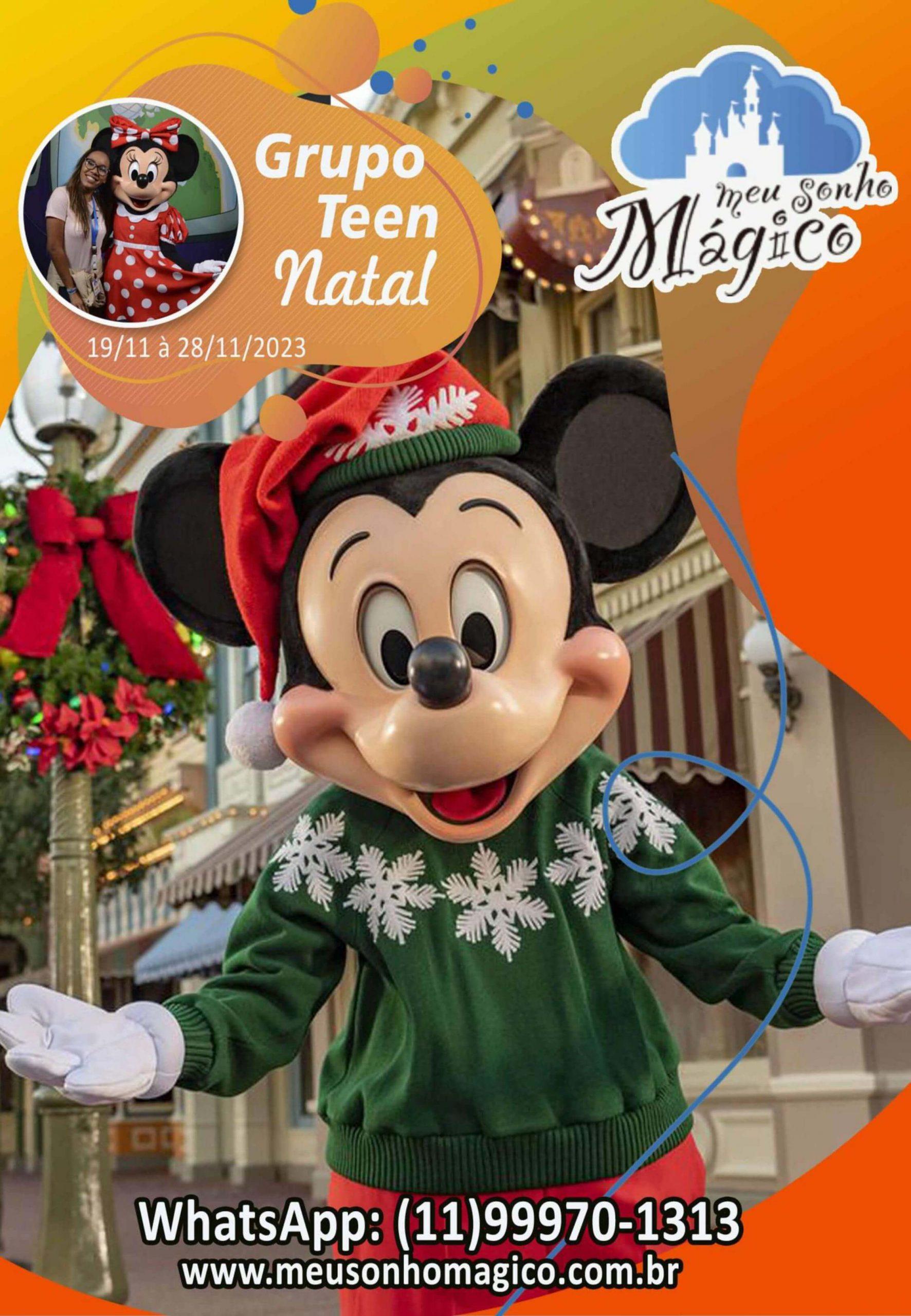 Grupo Teen Natal - Disney Novembro 2023 1