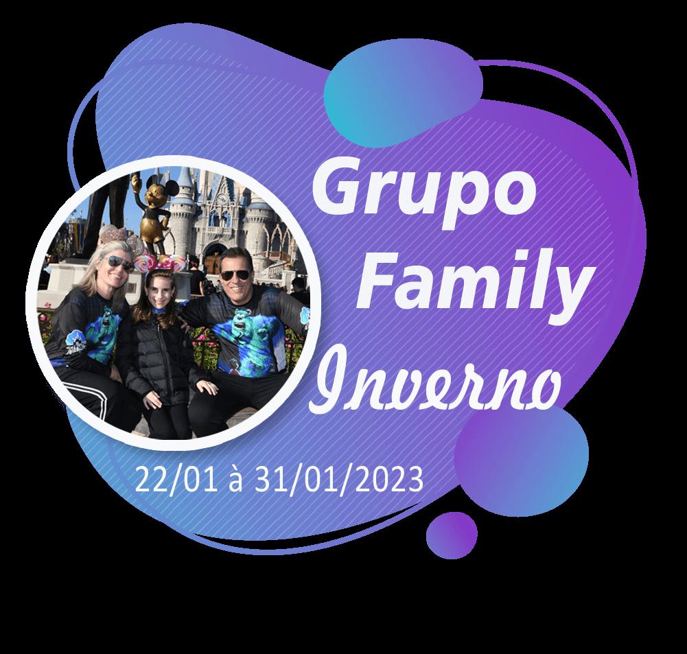 Grupo Family Inverno – Orlando – Janeiro 2023