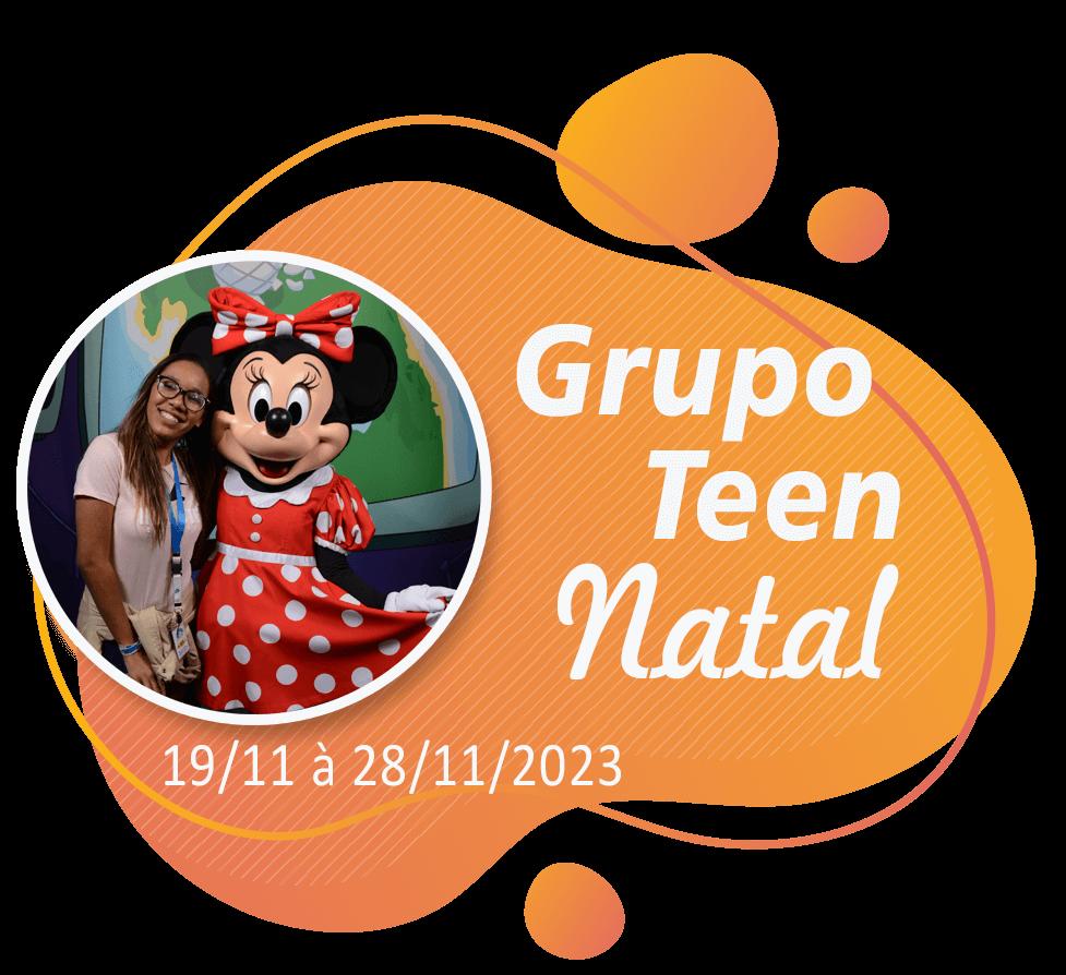 Grupo Teen Natal – Orlando – Novembro 2023