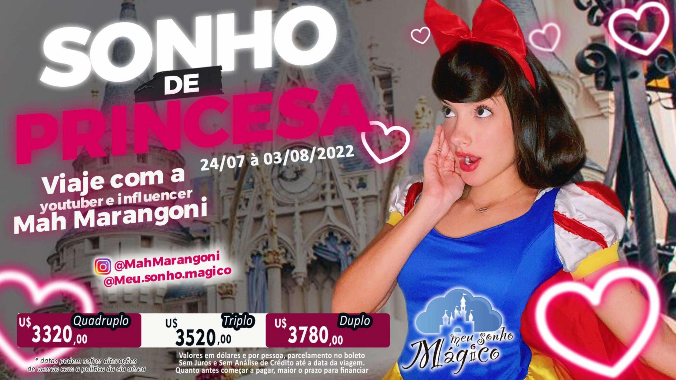Grupo Sonho de Princesa - Disney Orlando Julho 2022 28