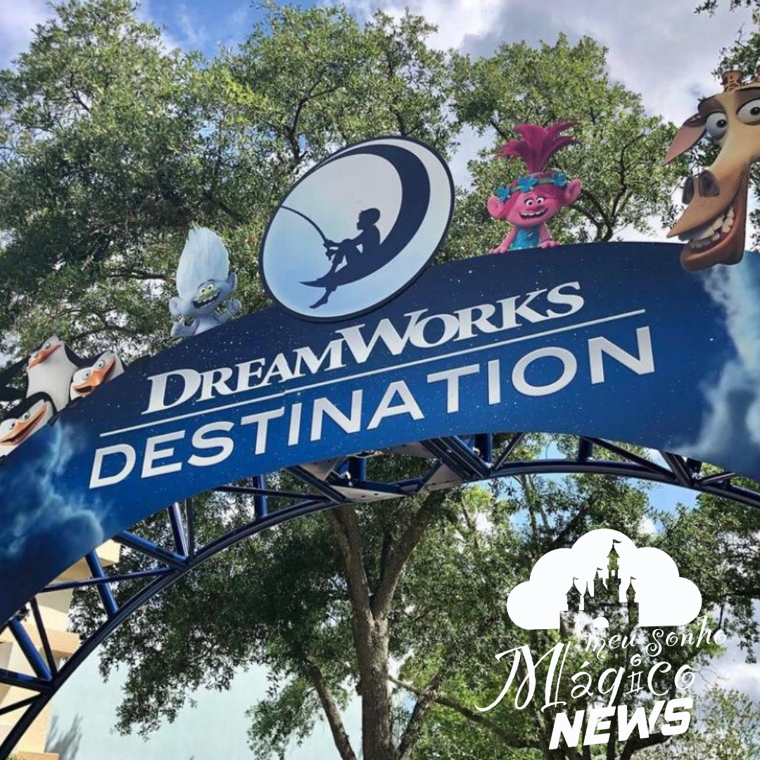 Universal Divulgou que criará uma área totalmente dedicada aos personagens da DreamWorks 16