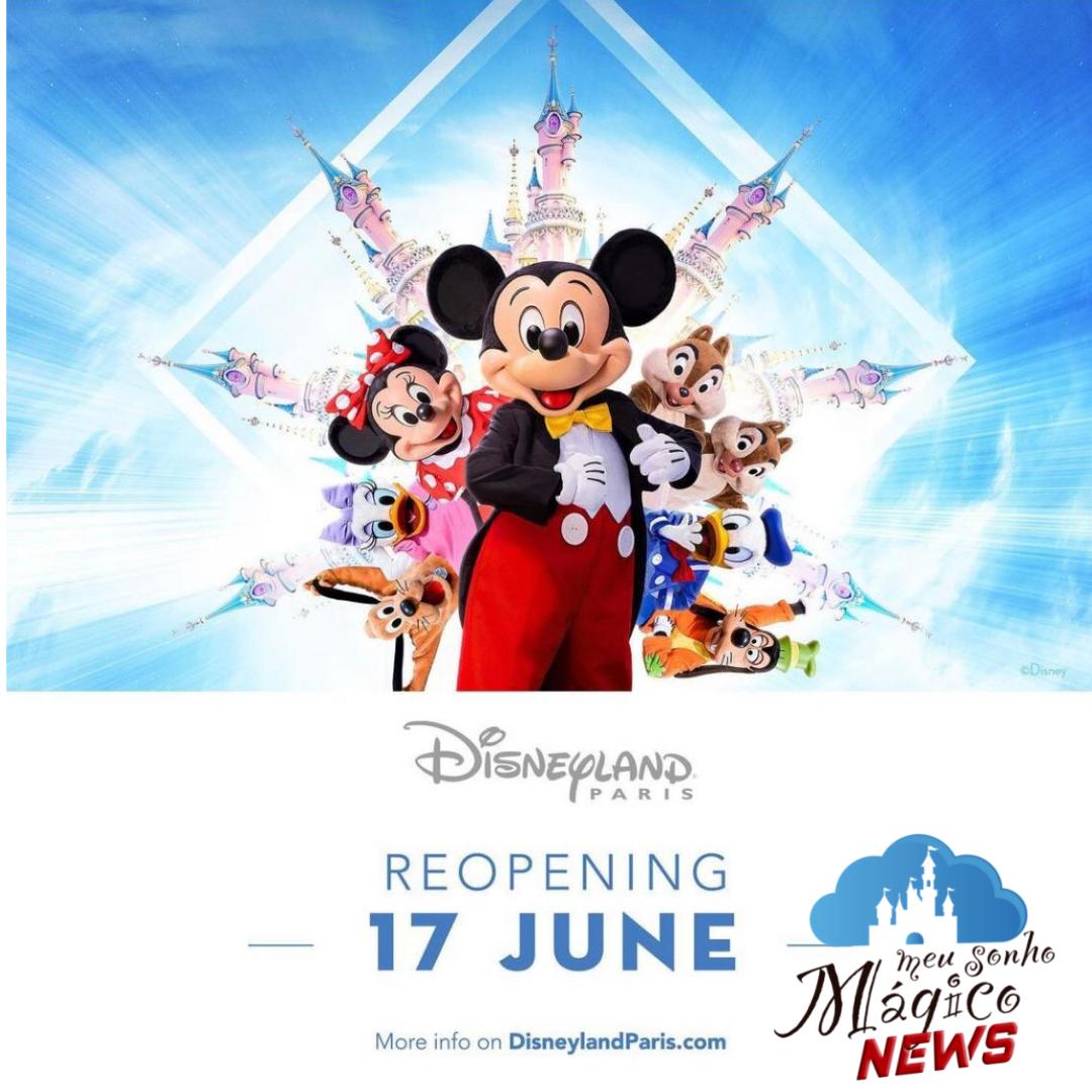 Disneyland Paris, será aberta novamente em 17 de Junho! 8